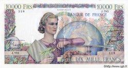 10000 Francs GÉNIE FRANÇAIS FRANCE  1950 F.50.34 SUP