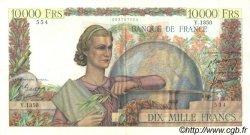 10000 Francs GÉNIE FRANÇAIS FRANCE  1951 F.50.49 TTB à SUP