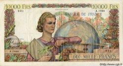 10000 Francs GÉNIE FRANÇAIS FRANCE  1951 F.50.50 pr.TTB