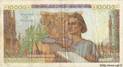 10000 Francs GÉNIE FRANÇAIS FRANCE  1951 F.50.52 TTB
