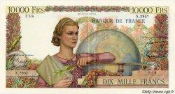 10000 Francs GÉNIE FRANÇAIS FRANCE  1952 F.50.60 SUP