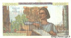 10000 Francs GÉNIE FRANÇAIS FRANCE  1953 F.50.63 TTB à SUP