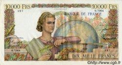 10000 Francs GÉNIE FRANÇAIS FRANCE  1954 F.50.71 pr.SUP