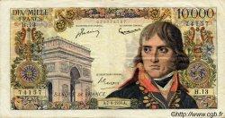 10000 Francs BONAPARTE FRANCE  1956 F.51.03 TB+