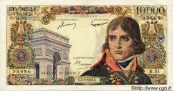 10000 Francs BONAPARTE FRANCE  1956 F.51.04 TTB+