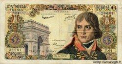 10000 Francs BONAPARTE FRANCE  1957 F.51.07 TB