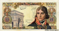 10000 Francs BONAPARTE FRANCE  1957 F.51.09 TTB+