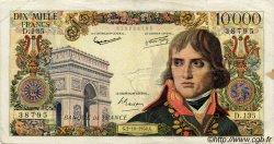10000 Francs BONAPARTE FRANCE  1958 F.51.13 B