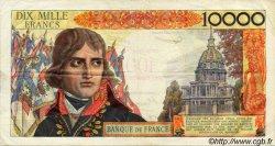 100 NF sur 10000 Francs BONAPARTE FRANCE  1958 F.55.01 TB à TTB