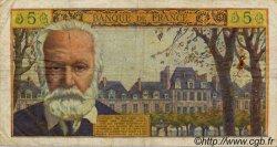 5 Nouveaux Francs VICTOR HUGO FRANCE  1960 F.56.05 B à TB