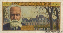5 Nouveaux Francs VICTOR HUGO FRANCE  1960 F.56.05 TB