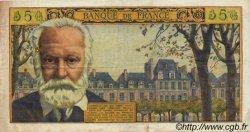5 Nouveaux Francs VICTOR HUGO FRANCE  1961 F.56.06 TTB