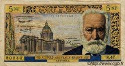 5 Nouveaux Francs VICTOR HUGO FRANCE  1961 F.56.06 B