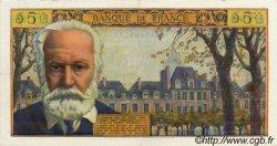 5 Nouveaux Francs VICTOR HUGO FRANCE  1961 F.56.08 TTB