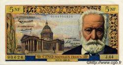 5 Nouveaux Francs VICTOR HUGO FRANCE  1961 F.56.09 pr.NEUF