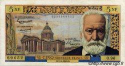5 Nouveaux Francs VICTOR HUGO FRANCE  1963 F.56.13 TB à TTB