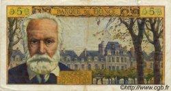 5 Nouveaux Francs VICTOR HUGO FRANCE  1963 F.56.14 TTB