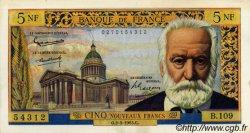 5 Nouveaux Francs VICTOR HUGO FRANCE  1963 F.56.14 SUP+