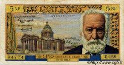 5 Nouveaux Francs VICTOR HUGO FRANCE  1964 F.56.16 TB