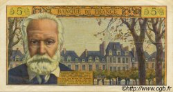 5 Nouveaux Francs VICTOR HUGO FRANCE  1965 F.56.18 pr.SUP