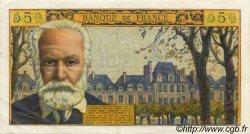 5 Nouveaux Francs VICTOR HUGO FRANCE  1965 F.56.19 SUP