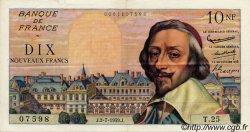 10 Nouveaux Francs RICHELIEU FRANCE  1959 F.57.02 pr.SUP
