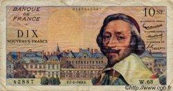 10 Nouveaux Francs RICHELIEU FRANCE  1960 F.57.06 TB
