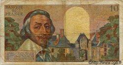 10 Nouveaux Francs RICHELIEU FRANCE  1960 F.57.09 B+
