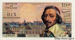 10 Nouveaux Francs RICHELIEU FRANCE  1960 F.57.10 SUP+