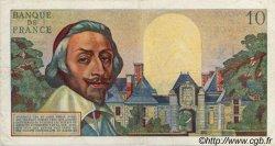 10 Nouveaux Francs RICHELIEU FRANCE  1961 F.57.13 TB à TTB