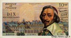 10 Nouveaux Francs RICHELIEU FRANCE  1961 F.57.16 TTB+