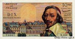 10 Nouveaux Francs RICHELIEU FRANCE  1962 F.57.19 SUP+