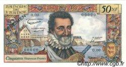 50 Nouveaux Francs HENRI IV FRANCE  1959 F.58.00 SPL