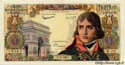 100 Nouveaux Francs BONAPARTE FRANCE  1960 F.59.09 TTB+ à SUP