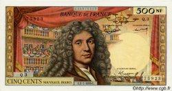 500 Nouveaux Francs MOLIÈRE FRANCE  1959 F.60.01 pr.SUP