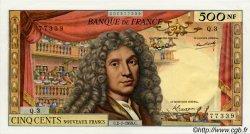 500 Nouveaux Francs MOLIÈRE FRANCE  1959 F.60.01 pr.SPL
