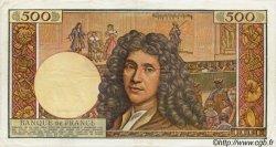 500 Nouveaux Francs MOLIÈRE FRANCE  1960 F.60.02 TTB+