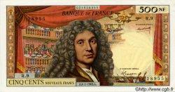 500 Nouveaux Francs MOLIÈRE FRANCE  1963 F.60.04 pr.SPL