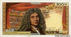 500 Nouveaux Francs MOLIÈRE FRANCE  1964 F.60.06 pr.TTB