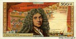 500 Nouveaux Francs MOLIÈRE FRANCE  1964 F.60.06 TTB