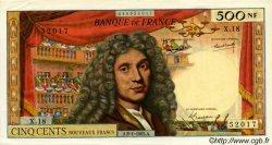 500 Nouveaux Francs MOLIÈRE FRANCE  1965 F.60.08 pr.SPL