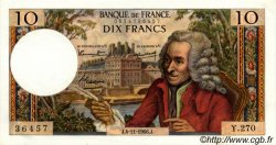 10 Francs VOLTAIRE FRANCE  1966 F.62.23 pr.NEUF