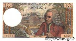 10 Francs VOLTAIRE FRANCE  1969 F.62.36 pr.SPL