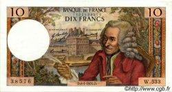 10 Francs VOLTAIRE FRANCE  1970 F.62.41 SUP+