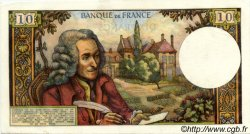 10 Francs VOLTAIRE FRANCE  1970 F.62.41 SPL