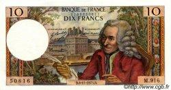 10 Francs VOLTAIRE FRANCE  1973 F.62.64 SPL