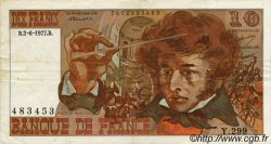 10 Francs BERLIOZ FRANCE  1972 F.63 TB
