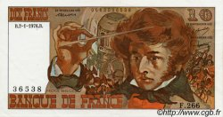 10 Francs BERLIOZ FRANCE  1972 F.63 SUP