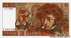 10 Francs BERLIOZ FRANCE  1972 F.63 SUP à SPL