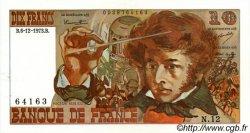 10 Francs BERLIOZ FRANCE  1973 F.63.02 SUP à SPL